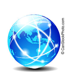 Asien und Australien, global