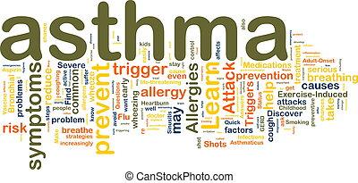 Asthma-Wortlaute