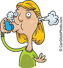 Asthmainhalator.