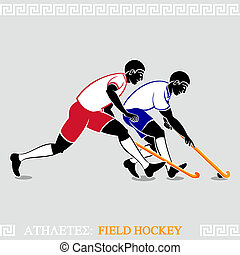 Athlete Feldhockeyspieler