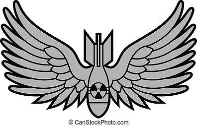 Atombombe mit Flügeln
