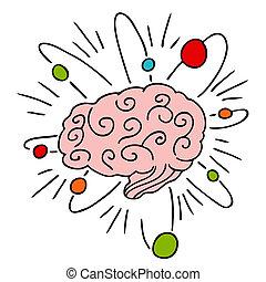 Atomische Gehirnenergie