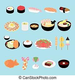 Attraktive japanische Delikatesse.