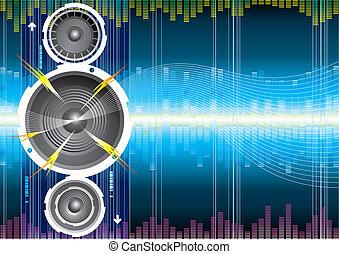 Audiolautsprecherwelle