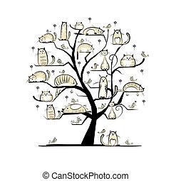 Auf dem Stammbaum für dein Design