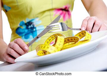 Auf Diät