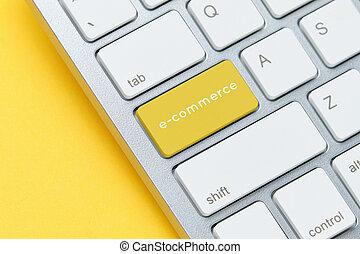 auf, e-commerz, tastatur, schließen, begriff, taste