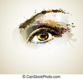 Auge.