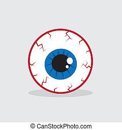 Augenblutschuss.