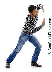 Aus Sicht des aktiven männlichen Tanzes