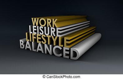ausgeglichen, lebensstil