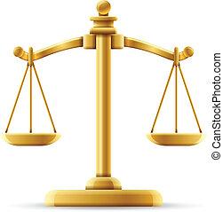Ausgewogene Gerechtigkeit.