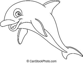 Ausgezeichneter Delfin