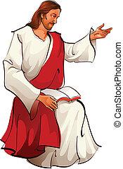 Aussicht auf Jesus Christus