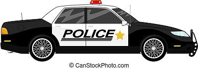 auto, polizei