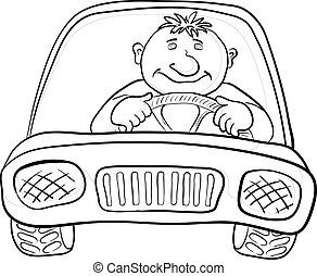 Auto und Fahrer, Umwege