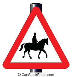 Auto- und Fahrertransportzeichen.