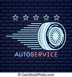 Autoindustriekarte.