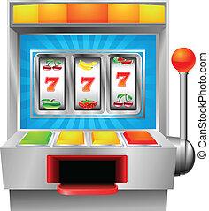 automat, fruechte