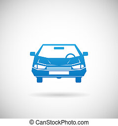 Automobile Symbol Auto Silhouette Icon Design Vorlage Vektor Illustration.