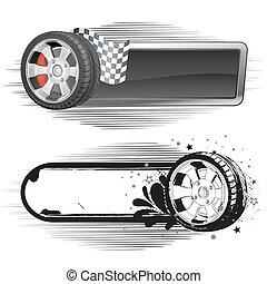 Automobilrennen-Element