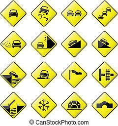 Autostraßenzeichen