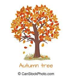 Autumnbaum-Vektor