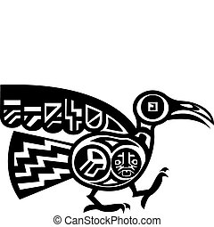 Aztekenvogel.