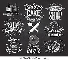 Bäckerfiguren Kreide.