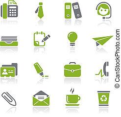 Büro & Business icons / natura
