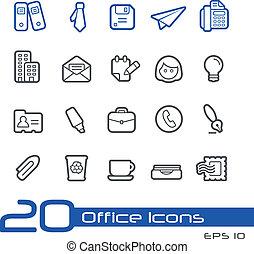 Büro- und Business-Icons // Zeile S.