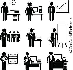 Bürojobs sind Berufe