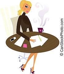 Büroprofessionelle