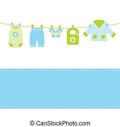 Baby-Ankunftskarte