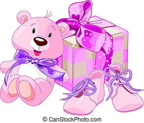baby, geschenke, m�dchen