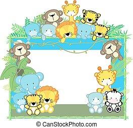 Baby Safari Rahmen.