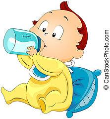 baby, trinken milch