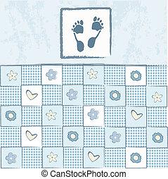 Babyparty-Karte
