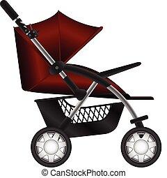 Babywagen.