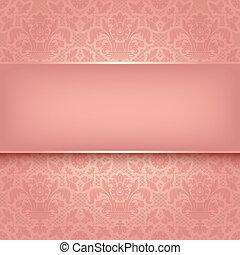 Background Pinker Zierde-Farbe-Stressur. Vektor eps 10