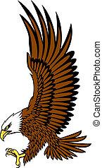 Bald Adlervektor