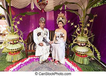 Balinese Hochzeit