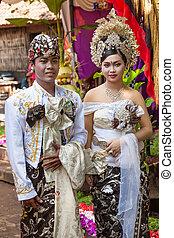 balinese, wedding