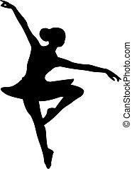 Ballerina Balletttänzerin