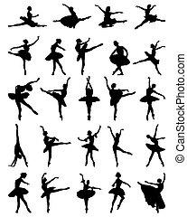 Ballerinas.