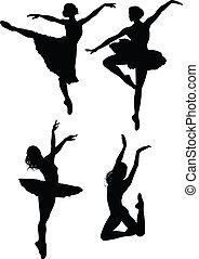 Ballettsilhouette