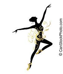 Balletttänzer für dein Design