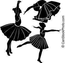 Balletttänzerin.