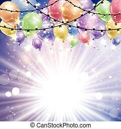 Ballons auf Sternenbasis 1411.