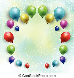 Ballons auf Sternenbasis 1707.